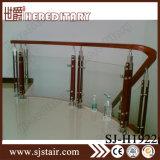 Balustres en verre en acier inoxydable pour balcon et escalier (SJ-H1918)