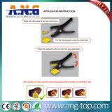 耳札/RFIDの動物管理のための動物の耳IDの札
