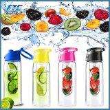 750ml BPA liberan el jugo de Fuzer de la fruta de Infuser de la botella de agua de Tritan