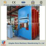 Placa de borracha Vulcanizer Pressione a máquina de vulcanização