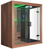 Monalisa 호화스러운 유럽식 Sauna 및 증기에 의하여 결합되는 룸 (M-6035)