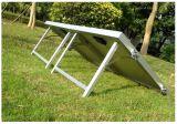 휴일에 있는 캐라반으로 야영을%s 태양 전지판을 접히는 130W