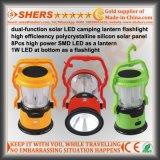 1W懐中電燈によってキャンプのための携帯用太陽LEDライト(SH-1972)