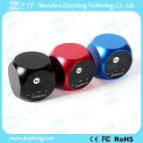 Altoparlante di alluminio portatile di Bluetooth di disegno dei dadi (ZYF3051)