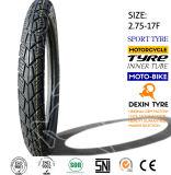 El deporte del neumático de la vespa del neumático de la motocicleta de la moto cansa el frente 2.75-17