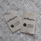 100% algodón impresión de etiquetas tejidas para ropa Accesorios