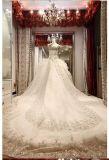 2016 New Strapless Crystal Vestidos de casamento nupcial Rfl001