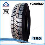 가져오기 인도 시장을%s Bis 타이어를 가진 중국 광선 트럭 타이어 10.00r20 Kunyuan Wx316