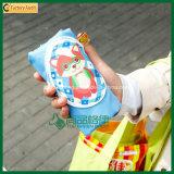Eco-Friendly pliable Sac shopping avec des avant Zipper Pocket (TP-FB092)
