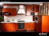 V) 2015年のWelbomの旧式な様式の木の食器棚(アマゾン