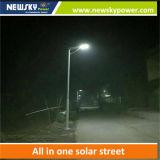 Lumière solaire intégrée à LED solaire pour Street Path House avec panneau mono