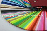 Papel sin recubrimiento superior del color de la pulpa de madera del grado el 100% para Origami