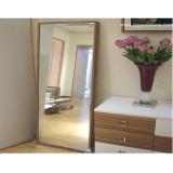 Silberner Spiegel für Badezimmer und Möbel