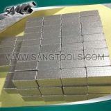 돌 (SG0136)를 위한 W 모양 다이아몬드 세그먼트 다이아몬드 공구