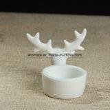Suporte de vela de cerâmica de presente de natal (CC-14)
