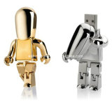 Robô pendrive USB Flash Memory Stick USB de Metal