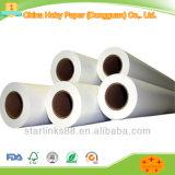 Prix blanc de papier de FSC 70-150g emballage par tonne pour l'imprimante de traceur
