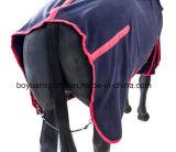 Folhas de cavalos de rugas de velo polido respirável