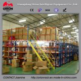 Sistema de rack de armazenamento de armazenamento de vários níveis