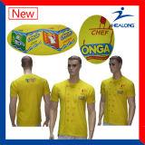 T-shirt en gros de sublimation de chemises de la Chine pour les hommes