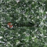자연적인 옥외 철회 가능한 담 인공적인 잔디 담
