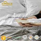 Insieme molle di lusso organico del lenzuolo di colore solido del rasatello di cotone di 375 TC 100%