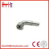 20491 hembra de métricas de 90 grados de cono de 24grados el anillo tórico L. T. tubo flexible hidráulico