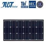 Um alto grau de eficiência energética 55W (18) PV painel solar com marcação CE/TUV