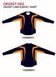 Spidersportの長い袖によって昇華させる服装のコオロギジャージー