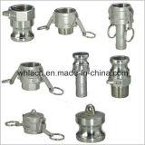 ステンレス鋼のCamlockのカップリングの溝の付属品の管(弁)