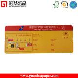 L'impression couleur haute qualité Customed billet papier/porte