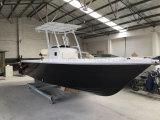 2017 de Hete Verkoop van de Vissersboot van de Console van het Centrum van de Glasvezel van het Type 24FT