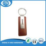 Kundenspezifisches Auto-Firmenzeichen-Leder Keychain für förderndes Keychain