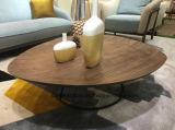 Tavolino da salotto più poco costoso di legno classico di disegno operato
