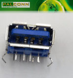 USB3.0 de alta qualidade de 9 pinos do suporte da ficha Famale Serviço ODM/OEM