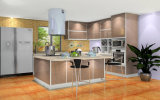 現代紫外線高い光沢のある食器棚(Zx-064)