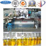 Используемый утилем завод по переработке вторичного сырья покрышки к топливу