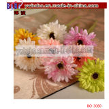 Artificial Fake Daisy Flower Bouquet Festa de Casamento Home Decor Craft (BO-3080)
