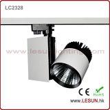 Helligkeit 30W COB Track Lights mit 3 Line Track LC2328