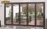 工場価格のCayoe広東省著アルミニウム折るテラスのドア