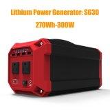 Generador solar casero auto portable 300W para la emergencia