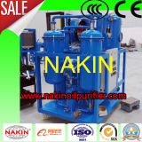 Purificador de petróleo en línea de la turbina del alto vacío, máquina de la filtración del petróleo