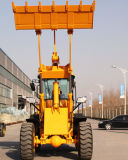 Chargeur de 3 tonnes mini chargeuse à roues avec capacité de 1,75 m3