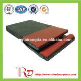 Placa de saia de borracha Rongda para transportador