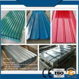 Strato d'acciaio ondulato galvanizzato preverniciato PPGI del tetto dello zinco colorato acciaio