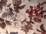 Velluto impresso Fabric/100%Polyester stampato del sofà (PR015)