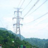 Башня передачи силы угла 220 Kv стальная