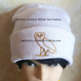 Bordados de alta qualidade chapéus OEM Tricot Jacquard Hat