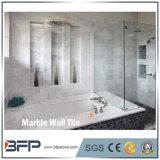 Высокое качество каррарского мрамора белого цвета стены плитка для интерьера