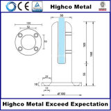 Zipolo di vetro della balaustra dell'acciaio inossidabile